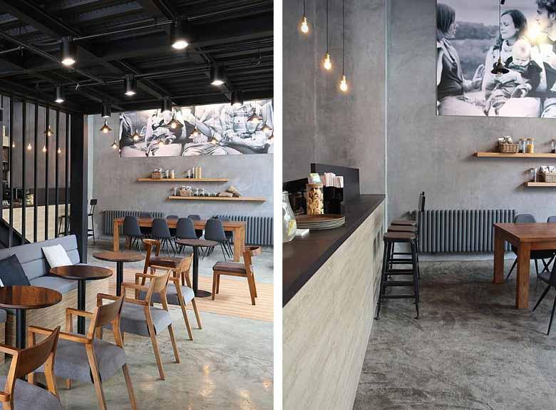 成都时光咖啡厅装修设计