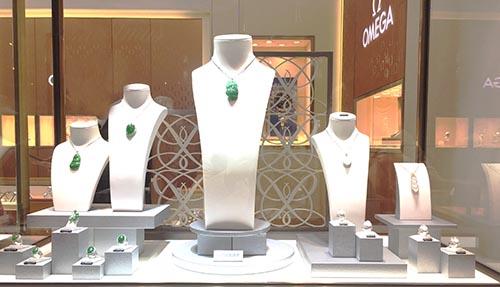 珠宝店橱窗设计,珠宝店橱窗布置说明