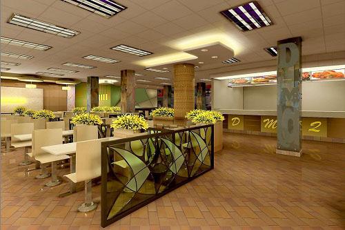 成都开一家快餐店,快餐店怎样装修设计