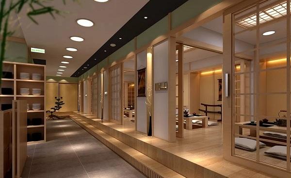 简单的日式料理店装修设计注意事项,日式餐饮店