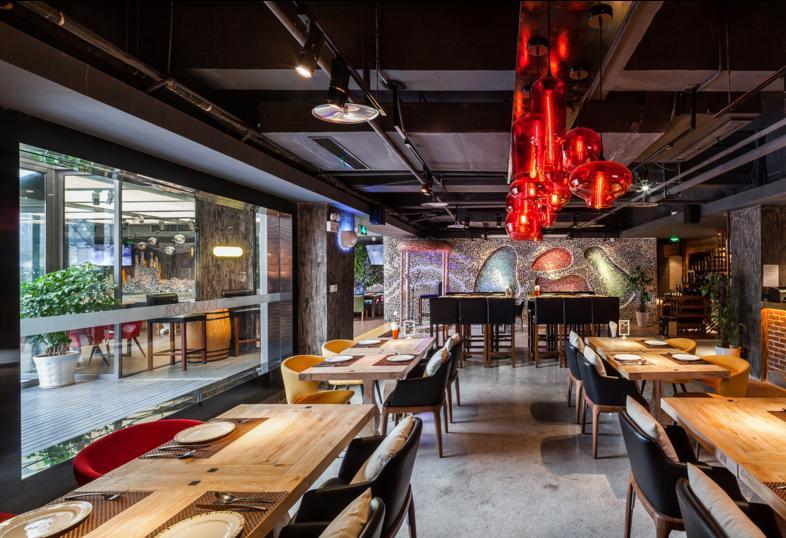 西餐厅装修设计方案,一套完整的西餐厅设计方案