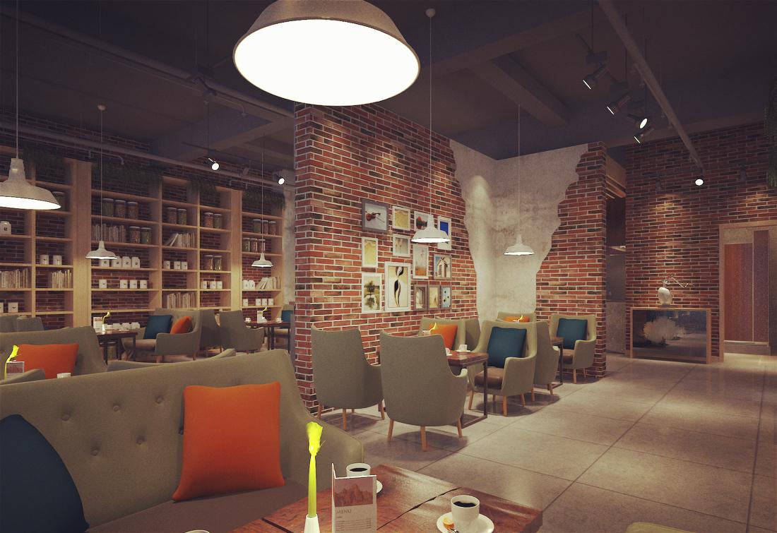 成都hello遇见咖啡馆设计