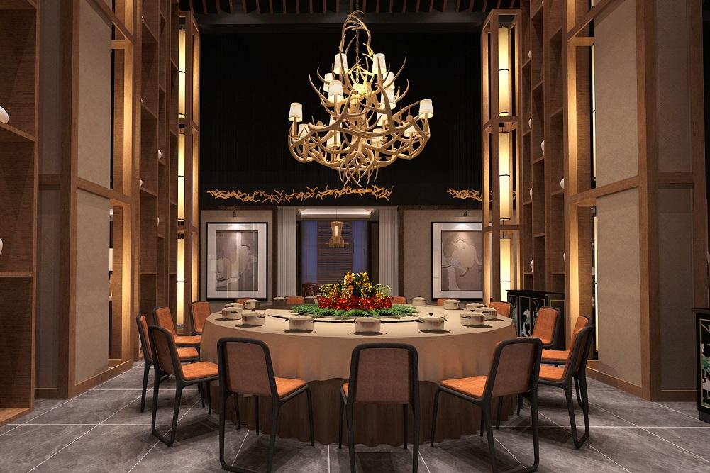 泰鼎新式中餐厅设计