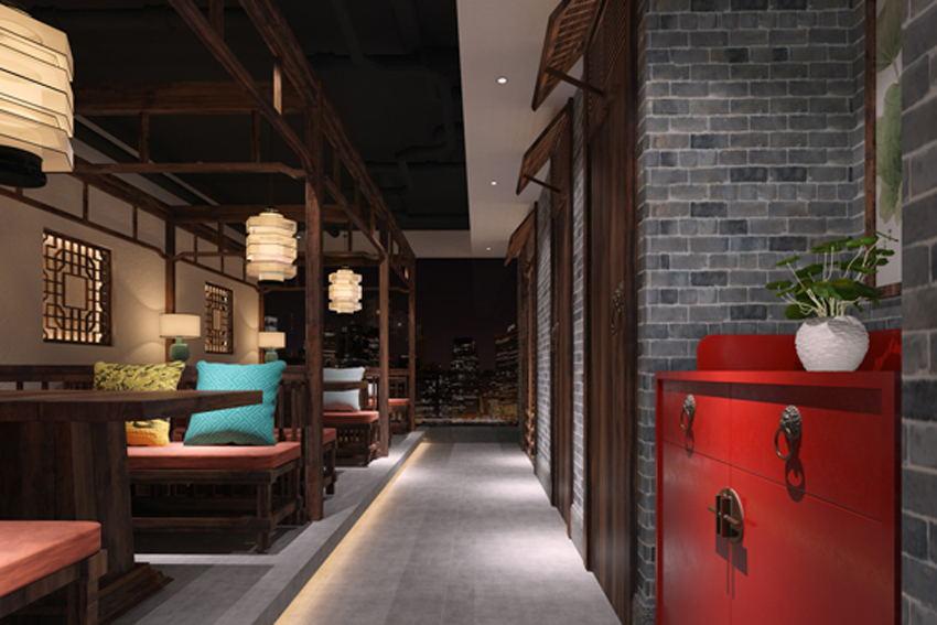 青木堂中餐厅设计