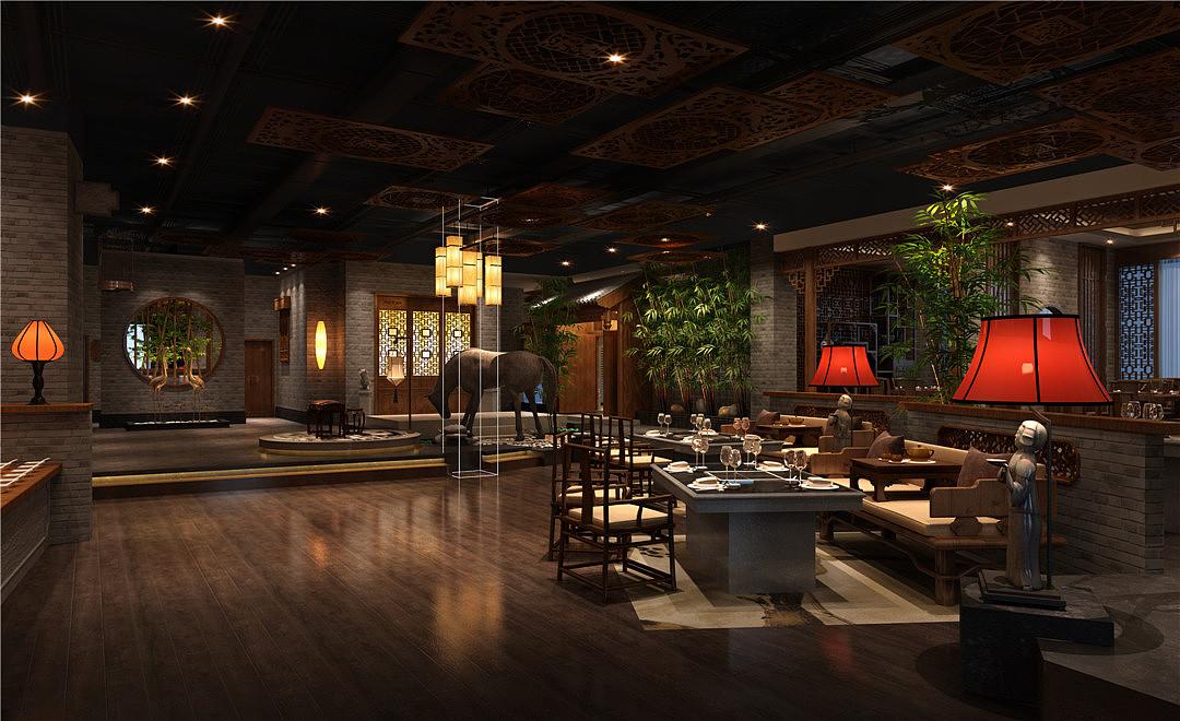 火锅店室内空间设计说明 火锅店新风设计说明