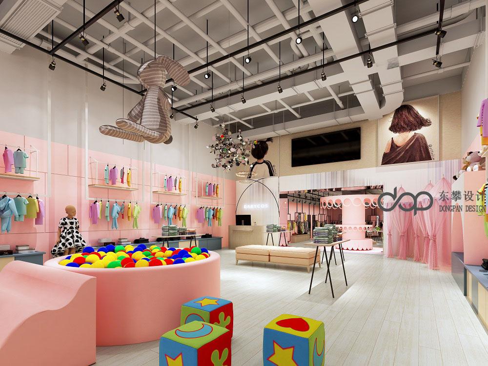 成都BABYCOS童装店设计