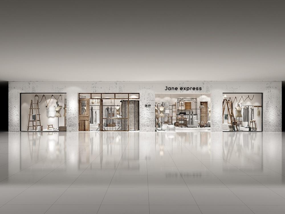 简抒女装店设计—达州女装店设计