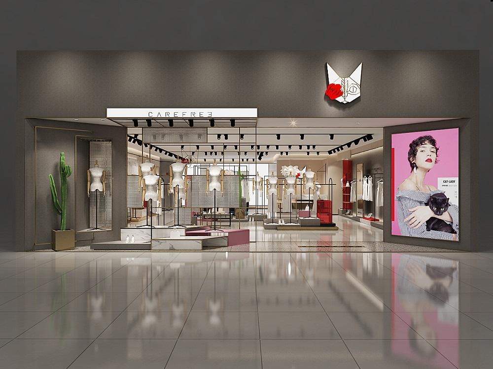 卡芙芮女装店设计方案