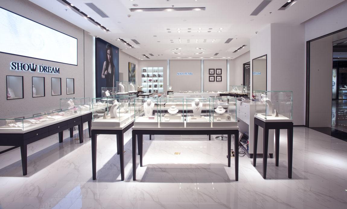 秀珍珠珠宝店装修设计