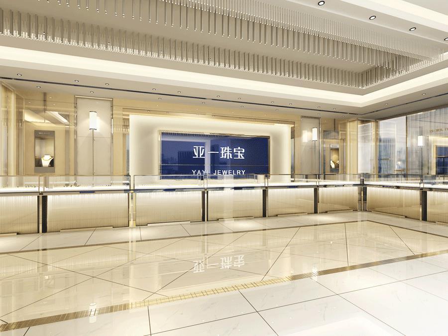 亚一珠宝店装修设计—上海