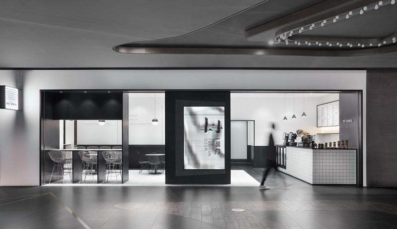 广州一尚门咖啡厅装修设计