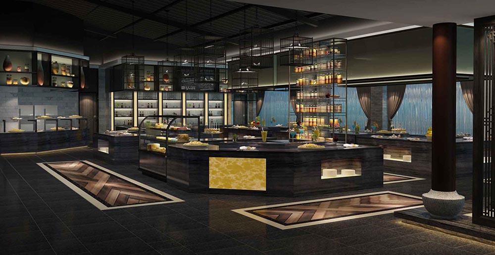 五湖四海中餐厅设计
